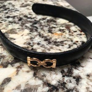 Ferragamo black headband